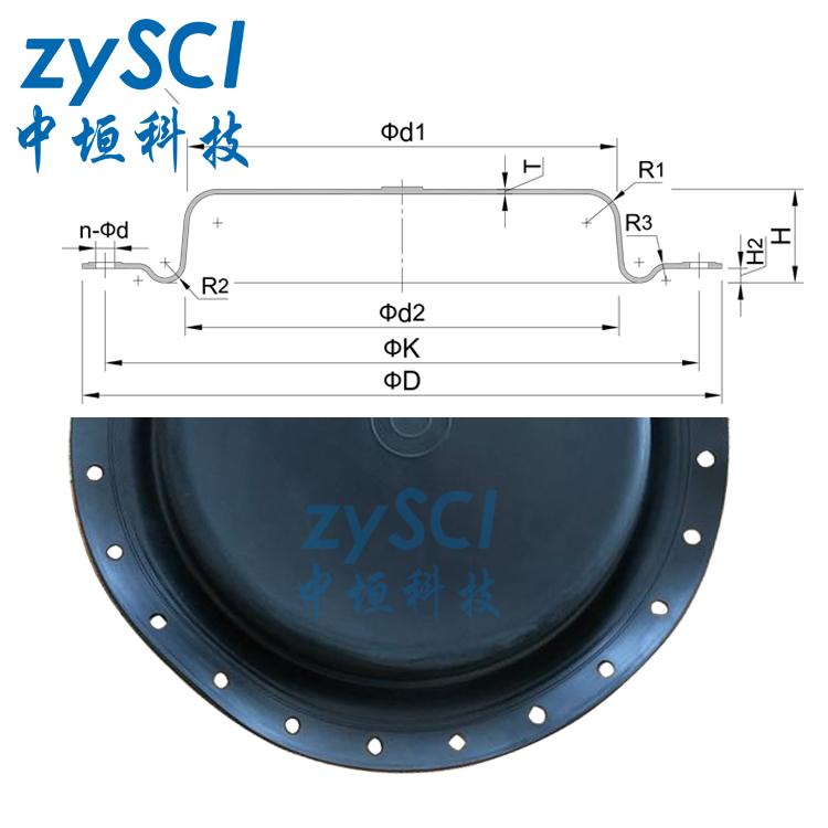 ZMA调节阀橡胶膜片